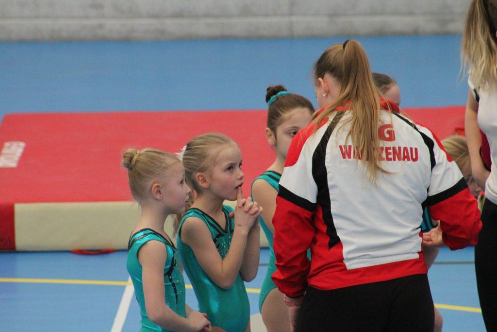 Les filles en finale du championnat du Bas Rhin